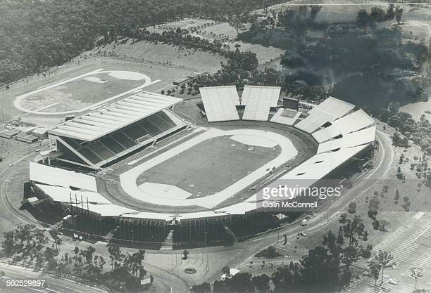 Hub of the action The Queen Elizabeth II Jubliee Sports Centre which has seating for 58000 will be the focus of track and field events when the...