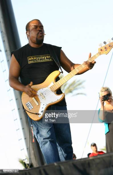 Hub of The Roots during Coachella Valley Music and Arts Festival - Day 3 - The Roots at Empire Polo Field in Indio, California, United States.