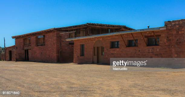 hubbell trading post national historic site - arizona - trading_post stock pictures, royalty-free photos & images