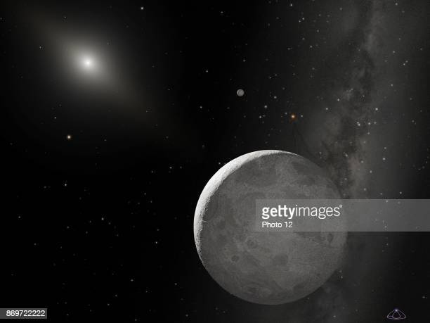 Hubble telescope image of the tenth planet currently nicknamed Xena Dated 2006