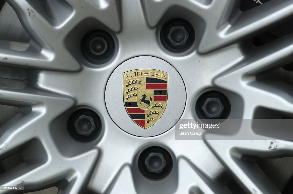 Porsche Accused Of New Diesel Emissions Manipulation : News Photo