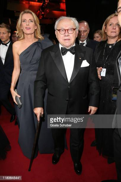 Hubert Burda and his wife Dr Maria FurtwaenglerBurda during the 71tst Bambi Awards at Festspielhaus BadenBaden on November 21 2019 in BadenBaden...
