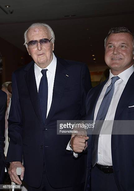 Hubert de Givenchy attends the 'Hubert de Givenchy' exhibition opening cocktail at the Thyssen-Bornemisza Museum on October 20, 2014 in Madrid, Spain.
