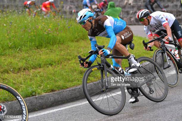 Hubert Dupont of France and Team AG2R La Mondiale / during the 102nd Giro d'Italia 2019 Stage 18 a 222km stage from Valdaora to Santa Maria di Sala...