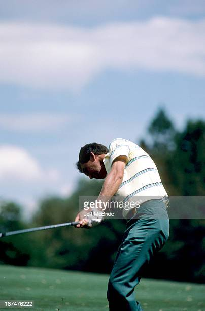 Hubert Green during the 67th PGA Championship held at Cherry Hills Country Club in Englewood Colorado August 811 1985