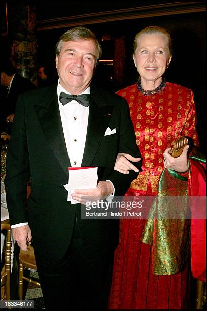 Hubert Guerrand Hermes and Duchesse Gersande D' Orleans at Gala Performance Of Don Giovanni at Opera Garnier In Paris In Aid Of L'Arop