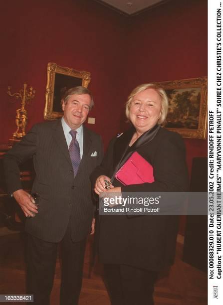 Hubert Guerrant Hermes Maryvonne Pinault party at Christie's collection of the Marquis de Bath Avenue Matignon Paris