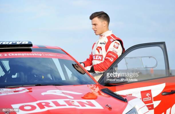 Hubert Ptaszek ORLEN Team during the WRC Orlen 74 Rally Poland on June 29 2017 in Mikolajki Poland