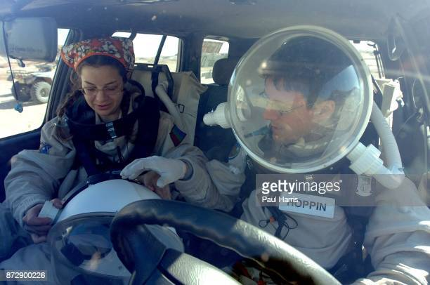 Hubertus Breuer a German journalist at the Mars Society Mars Project consist's of 3 teams of 6 people living in a Tin Can in the Southern Utah desert...