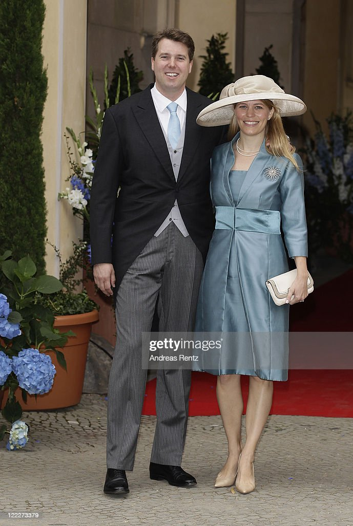 Georg Friedrich Ferdinand Prince Of Prussia And Princess Sophie Of Isenburg Wedding : News Photo