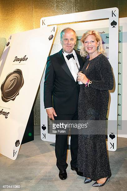 Hubertus Meyer-Burckhardt and his wife Jacqueline Meyer-Burckhardt attend the Douglas at Duftstars 2015 on May 06, 2015 in Berlin, Germany.
