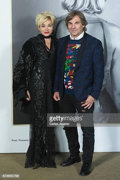 Hubertus Von Hohenlohe and Simona Gandolfi attend 'LOEWE Past Present Future' exhibition at Jardin Botanico on November 17 2016 in Madrid Spain