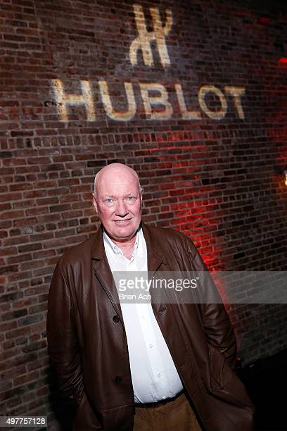 Hublot Chairman and President of LVMH Watch Division JeanClaude Biver attends the Hublot celebration of the Big Bang 10th anniversary with dinner at...