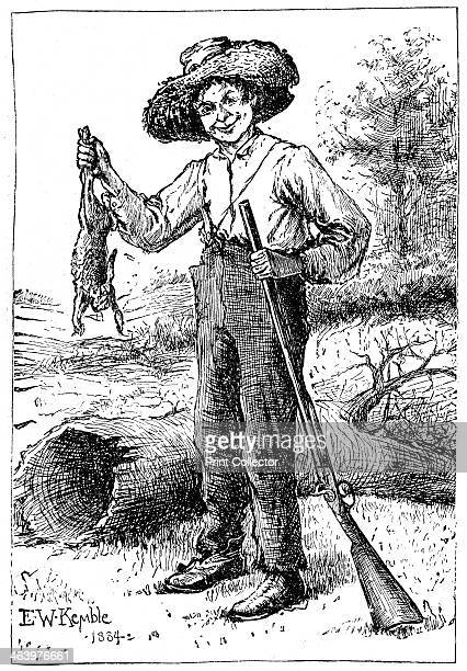 'Huckleberry Finn' Published in The Outline of Literature by John Drinkwater London 1923