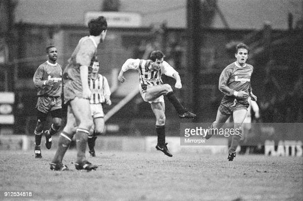 Huddersfield 2-1 Bury, Division 3 League match at Leeds Road, Saturday 22nd December 1990.