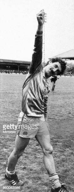 Huddersfield 22 Newcastle Division Two League match at Leeds Road Monday 7th May 1984 Terry McDermott