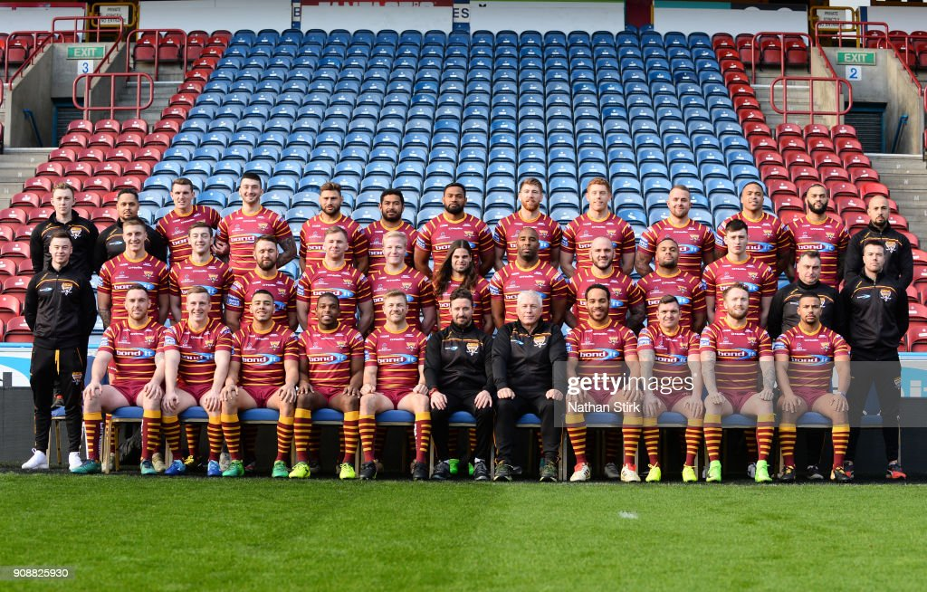 Huddersfield Giants Media Day