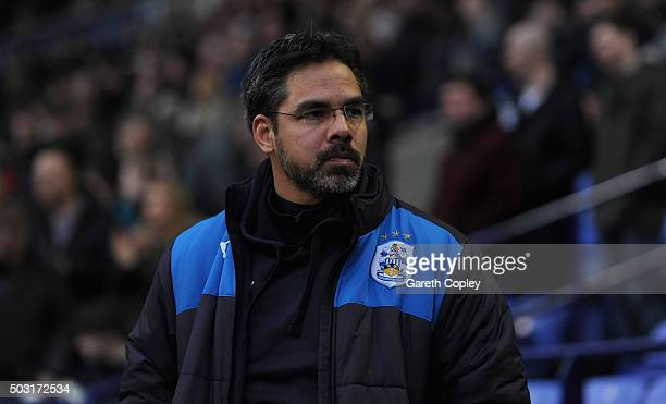 Huddersfield manager David Wagner during the Sky Bet Championship match between Bolton Wanderers and Huddersfield Town at the Macron Stadium on...