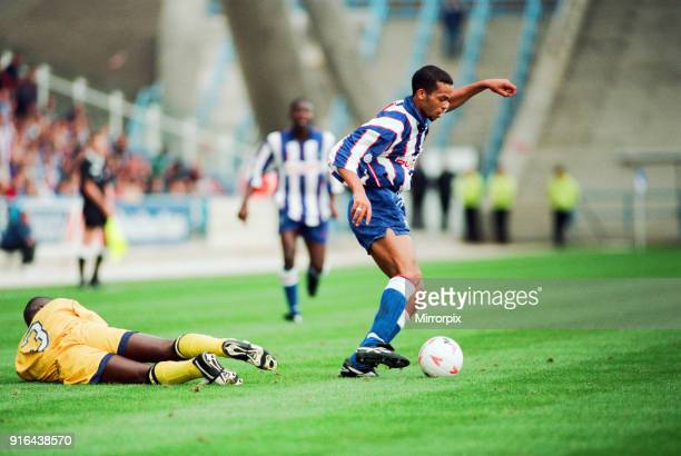 Huddersfield Town 0-1 Wycombe Wanderers, Division Two league match at the Alfred McAlpine Stadium, Saturday 20th August 1994. Inaugural match at the...