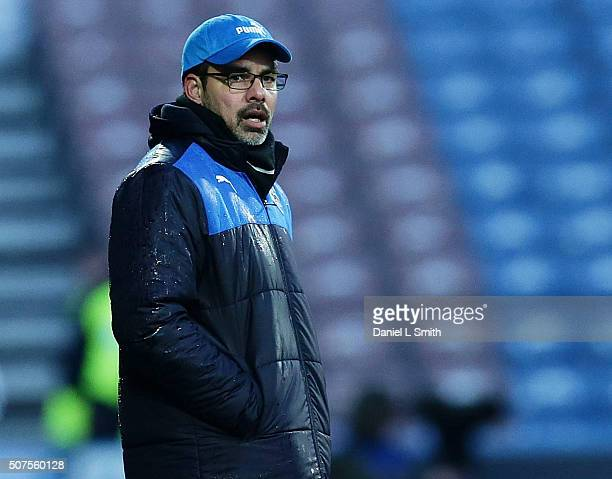 Huddersfield Town FC Head Coach David Wagner during the Sky Bet Championship football match between Huddersfield Town and Cardiff City at The John...