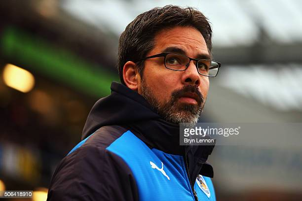 Huddersfield Town Head Coach David Wagner looks on prior to the Sky Bet Championship match between Brighton and Hove Albion and Huddersfield Town at...