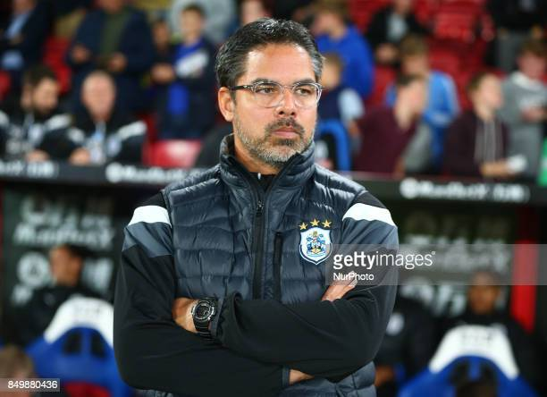 Huddersfield Town manager David Wagner during Carabao Cup 3rd Round match between Crystal Palace and Huddersfield Town at Selhurst Park Stadium...