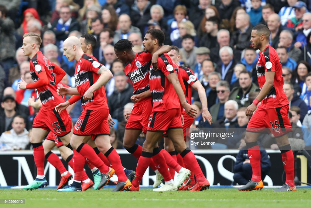 Brighton and Hove Albion v Huddersfield Town - Premier League : News Photo