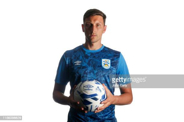 Huddersfield Town unveil new signing Tommy Elphick at The John Smith's Stadium on June 14 2019 in Huddersfield England
