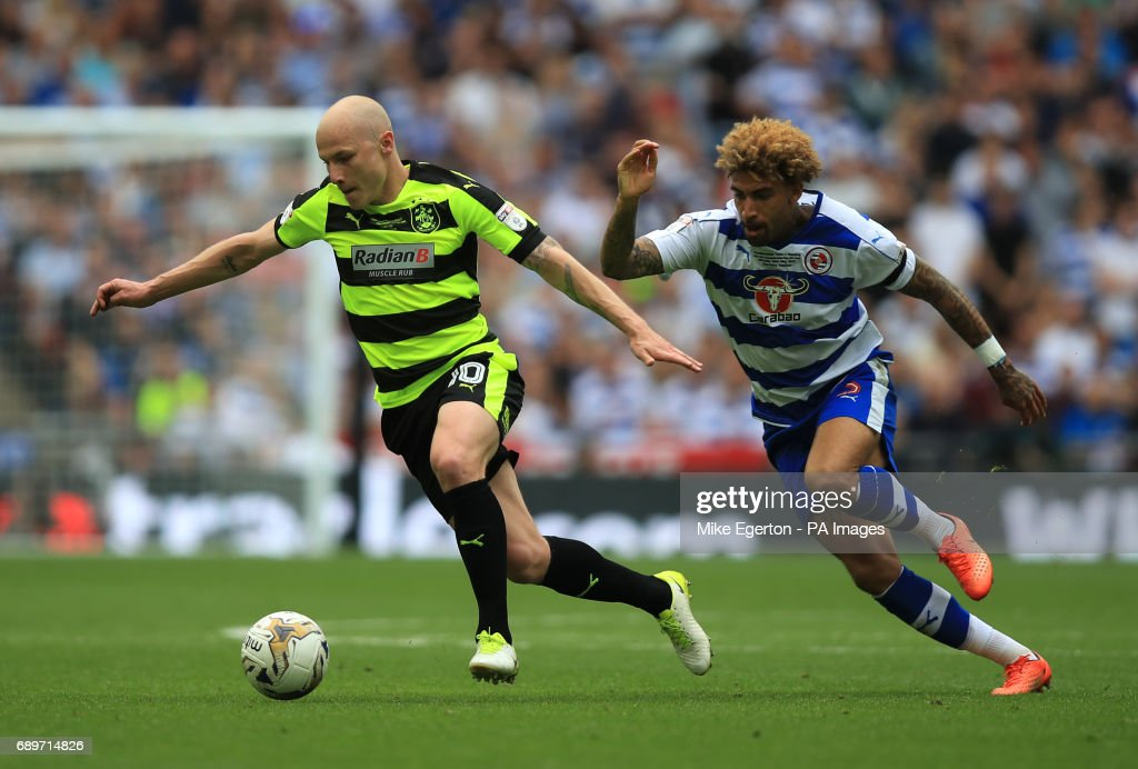 Huddersfield Town v Reading - Sky Bet Championship - Play Off - Final - Wembley Stadium : News Photo