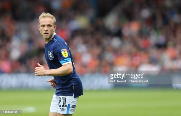 Huddersfield Town's Alex Pritchard during the Sky Bet Championship match between Luton Town and Huddersfield Town at Kenilworth Road on August 31,...