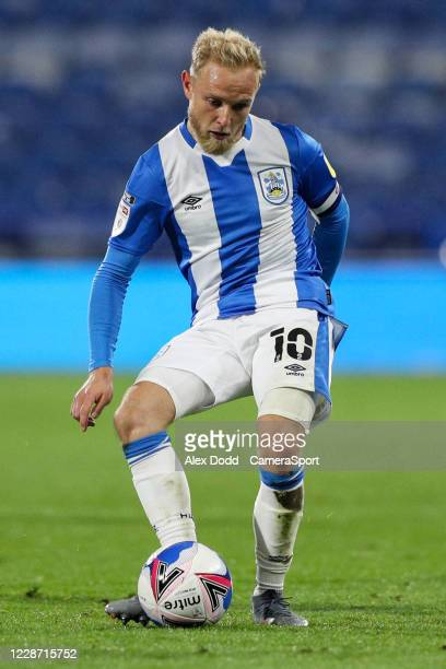 Huddersfield Town's Alex Pritchard during the Sky Bet Championship match between Huddersfield Town and Nottingham Forest at John Smith's Stadium on...