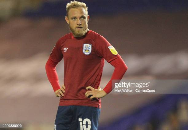 Huddersfield Town's Alex Pritchard during the Sky Bet Championship match between Birmingham City and Huddersfield Town at St Andrew's Trillion Trophy...