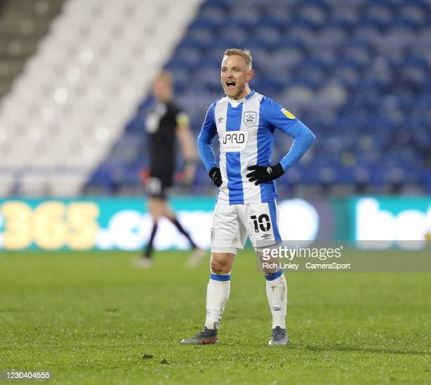 Huddersfield Town's Alex Pritchard during the Sky Bet Championship match between Huddersfield Town and Reading at John Smith's Stadium on January 2,...