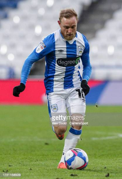 Huddersfield Town's Alex Pritchard during the Sky Bet Championship match between Huddersfield Town and Wycombe Wanderers at John Smith's Stadium on...