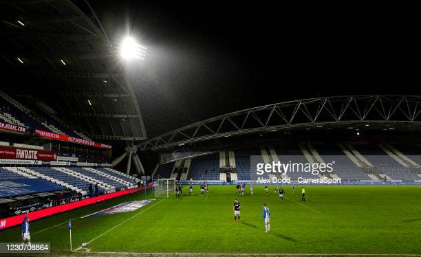 Huddersfield Town's Alex Pritchard takes a corner during the Sky Bet Championship match between Huddersfield Town and Millwall at John Smith's...