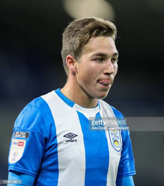 Huddersfield Towns Carel Eiting during the Sky Bet Championship match between Huddersfield Town and Nottingham Forest at John Smith's Stadium on...