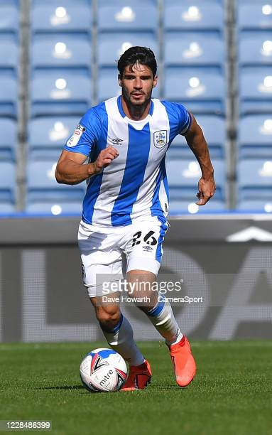 Huddersfield Town's Christopher Schindler during the Sky Bet Championship match between Huddersfield Town and Norwich City at John Smith's Stadium on...