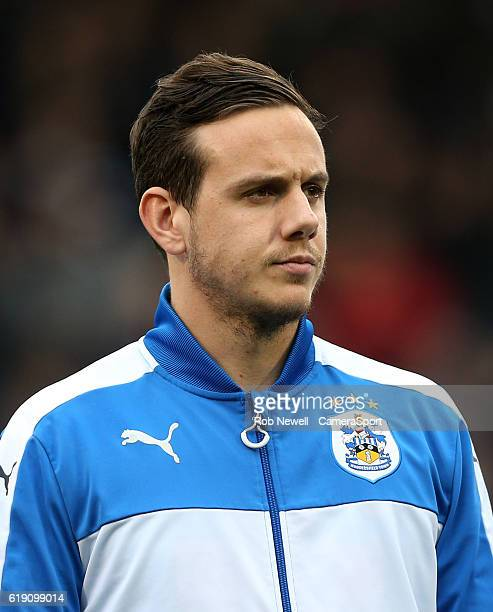 Huddersfield Town's Danny Ward during the Sky Bet Championship match between Fulham and Huddersfield Town at Craven Cottage on October 29 2016 in...