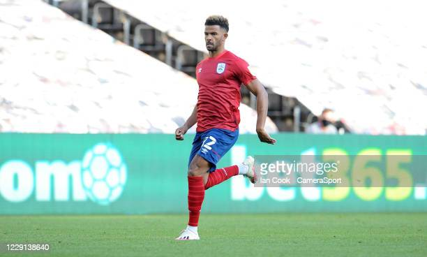Huddersfield Town's Fraizer Campbell during the Sky Bet Championship match between Swansea City and Huddersfield Town at Liberty Stadium on October...