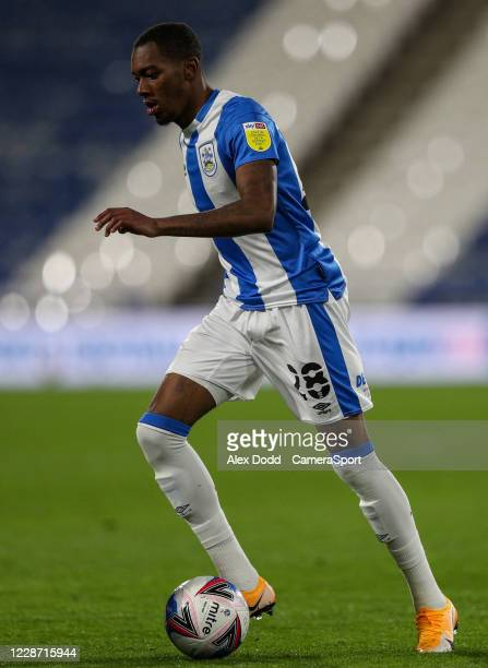 Huddersfield Town's Jaden Brown during the Sky Bet Championship match between Huddersfield Town and Nottingham Forest at John Smith's Stadium on...