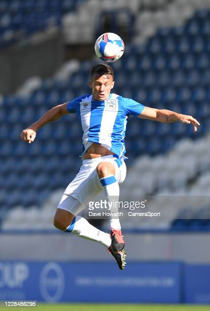 Huddersfield Town's Jonathan Hogg during the Sky Bet Championship match between Huddersfield Town and Norwich City at John Smith's Stadium on...