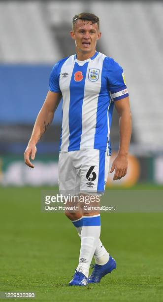Huddersfield Town's Jonathan Hogg during the Sky Bet Championship match between Huddersfield Town and Luton Town at John Smith's Stadium on November...