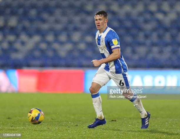 Huddersfield Town's Jonathan Hogg during the Sky Bet Championship match between Huddersfield Town and Reading at John Smith's Stadium on January 2,...