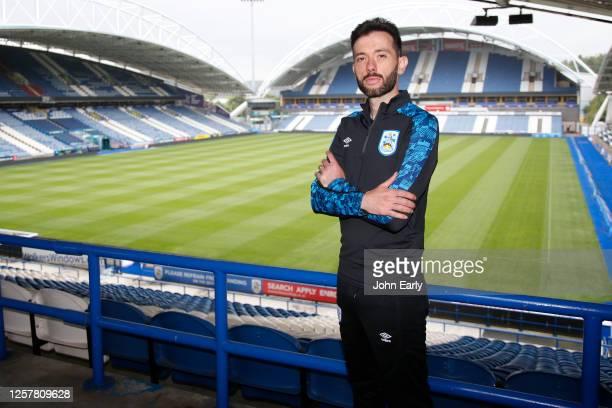 Huddersfield Town's new Head Coach Carlos Corberán poses for a photograph at John Smith's Stadium on July 23 2020 in Huddersfield England