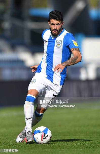 Huddersfield Town's Pipa during the Sky Bet Championship match between Huddersfield Town and Norwich City at John Smith's Stadium on September 12...