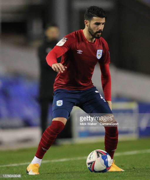 Huddersfield Town's Pipa during the Sky Bet Championship match between Birmingham City and Huddersfield Town at St Andrew's Trillion Trophy Stadium...