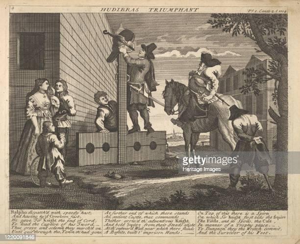 Illustrations to Samuel Butler's Hudibras 172530 Artist Unknown