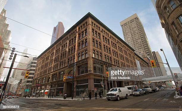 TORONTO JANUARY 27 Hudson Bay Company flagship store at Yonge and Queen is being sold to Cadillac Fairview with plans for Saks to eventually occupy...
