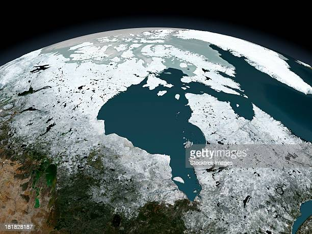 Hudson Bay sea ice on November 14, 2005.
