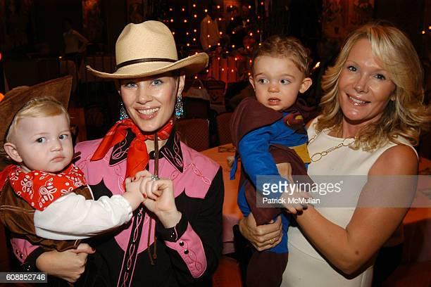 Hudson Cornelius Heinemann, Michelle Marie Heinemann, Caroline Toms and Rex Cohen attend Hudson Cornelius Heinemann Celebrates His First Birthday at...
